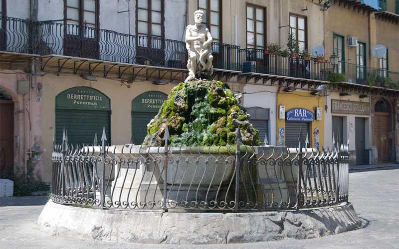 Visitare Palermo: Piazza Rivoluzione o della Fieravecchia