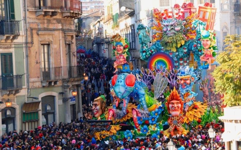 Ad Acireale per il Carnevale