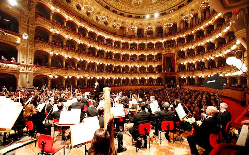 Teatro Massimo, concerto di Capodanno