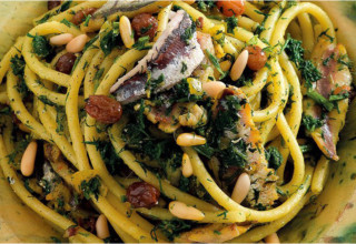 Gusti-Bus: pasta with sardines