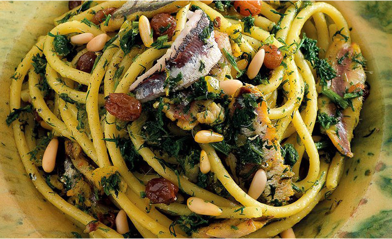 Gusti-Bus: pasta with sardines