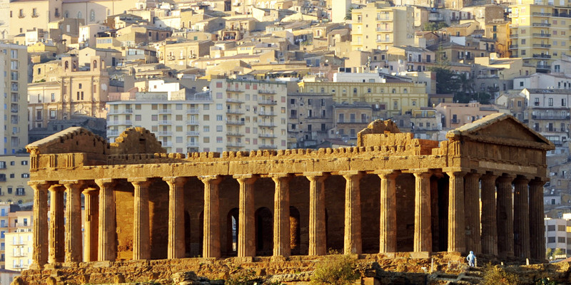 Agrigento, the rise of an important tourist center