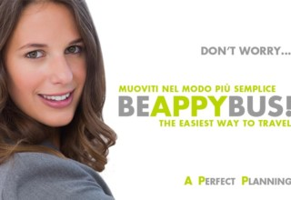 Stop stress! #BEAPPYBUS anche tu!