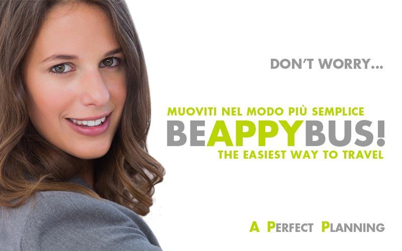 Stop stress! #BEAPPYBUS anche tu!