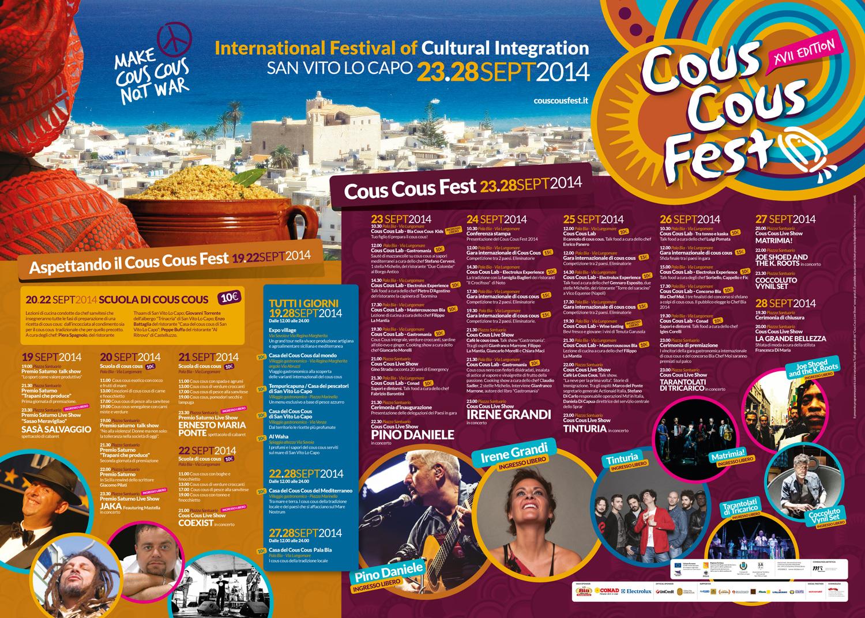 Programma del Cous Cous Fest 2014