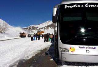 Sulla neve in Sicilia