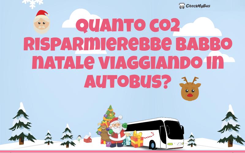 Anche Babbo Natale dovrebbe viaggiare in autobus