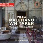 Invasione Digitale Villa Malfitano Whitaker