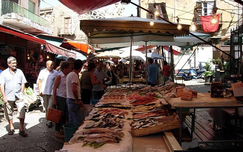 I mercati storici di Palermo