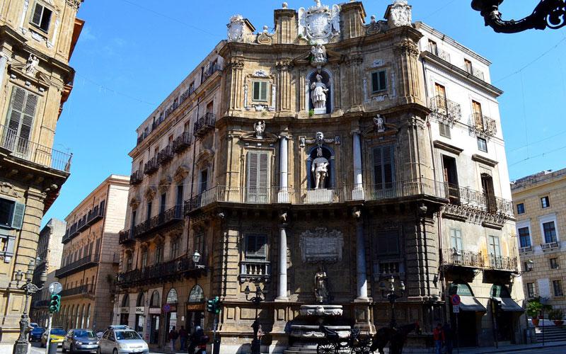 A piedi a Palermo