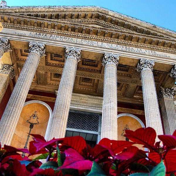 Stelle di Natale al Teatro Massimo – © Fondazione Teatro Massimo